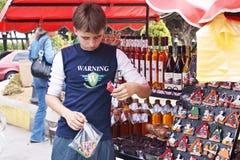 Mercado da lembrança Fotos de Stock