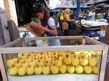 Mercado da manhã em Danok Imagem de Stock