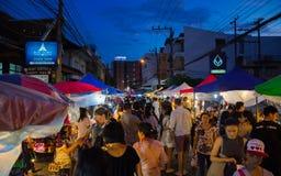 Mercado da noite Foto de Stock Royalty Free