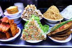 Mercado da noite de Hoi An - Vietname Ásia imagem de stock royalty free