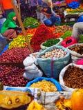 Mercado da noite de Sumatran Imagem de Stock