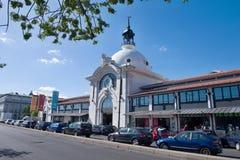Mercado DA Ribeira - les grands espaces publics Photo libre de droits