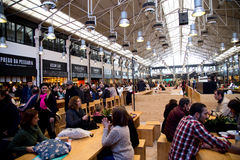Mercado da ribeira Stock Photography