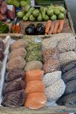Mercado da rua Foto de Stock