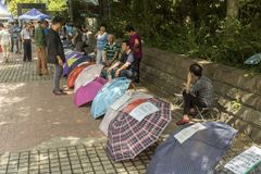 Mercado da união em Shanghai, China Imagem de Stock