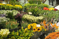 Mercado das flores Imagens de Stock Royalty Free