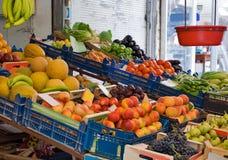 Mercado das frutas e verdura Foto de Stock Royalty Free