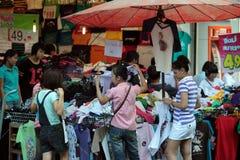 MERCADO DE ÁSIA TAILÂNDIA CHIANG MAI Fotografia de Stock