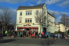 Mercado de acción del esquí en Heidenau Foto de archivo