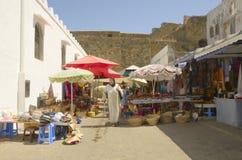 Mercado de Asilah Fotografía de archivo libre de regalías
