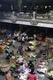 Mercado de Bali Ubud Foto de archivo libre de regalías