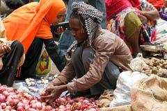 Mercado de Bati Foto de archivo