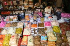 Mercado de Beringharjo Fotografía de archivo
