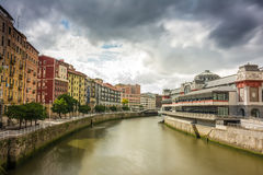 Mercado de Bilbao Imagen de archivo libre de regalías