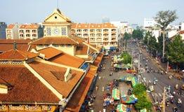 Mercado de Binh Tay, Ho Chi Minh City foto de archivo