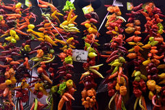 Mercado de Boqueria Fotos de archivo