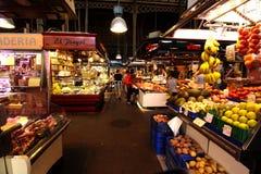 Mercado de Boqueria Imagem de Stock Royalty Free