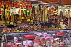 Mercado de Boqueria del La Fotos de archivo