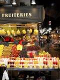 Mercado de Boqueria do La do St. Josep Foto de Stock Royalty Free