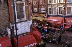 Mercado de Brixton, Londres Fotos de Stock Royalty Free