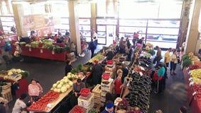 Mercado de Bucur Obor fotos de archivo
