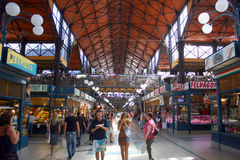 Mercado de Budapest Fotos de Stock Royalty Free
