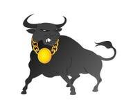 Mercado de Bull Fotografia de Stock