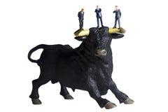 Mercado de Bull Imágenes de archivo libres de regalías