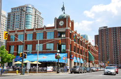 Mercado de Byward en Ottawa céntrica Imagen de archivo libre de regalías