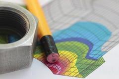 Mercado de câmbios em boltings Imagem de Stock
