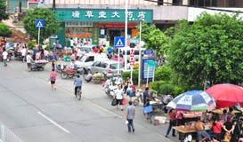 Mercado de calle Foto de archivo