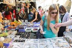 Mercado de calle Imagen de archivo