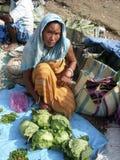 Mercado de calle de Paquistán Imágenes de archivo libres de regalías