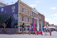 Mercado de calle de Rundle Fotos de archivo
