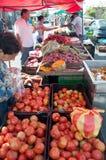 Mercado de calle en Villas de Ayarco, Costa Rica Fotografía de archivo