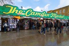 Mercado de Camden em Londres Foto de Stock