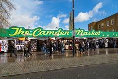 Mercado de Camden em Londres Imagem de Stock