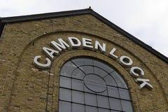 Mercado de Camden en Londres Imágenes de archivo libres de regalías