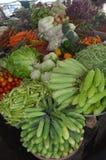 Mercado de Can Tho do delta de Vietname - de Mekong Fotografia de Stock