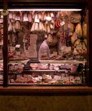 Mercado de carne Imagem de Stock Royalty Free