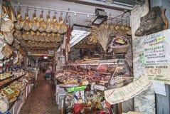 Mercado de carne en Florencia Italia Imagenes de archivo