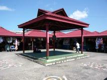 Mercado de Castries, St Lucia fotografía de archivo libre de regalías