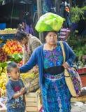 Mercado de Chichicastenango Imagens de Stock