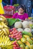 Mercado de Chichicastenango Fotografia de Stock