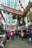 Mercado de Chinatown en Kuala Lumpur Imágenes de archivo libres de regalías