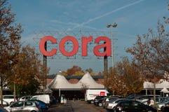 Mercado de Cora de mulhouse Foto de Stock