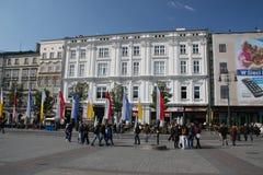 Mercado de Cracovia Foto de archivo