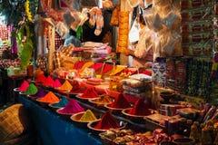 Mercado de Devarai em Mysore da Índia Foto de Stock