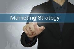 Mercado de Digitas do ponto do negócio no Web site Foto de Stock