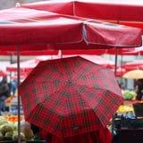 Mercado de Dolac, Zagreb imagen de archivo